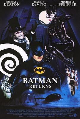 Batman Returns (1992) แบทแมน รีเทิร์นส ศึกมนุษย์เพนกวินกับนางแมวป่า – หมื่นทิพ's Review