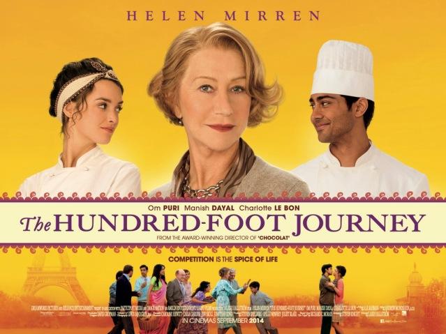 The Hundred-Foot Journey, USA, 2014, Lasse Hallström, Helen Mirren, Om Puri, Manish Dayal, Charlotte Le Bon