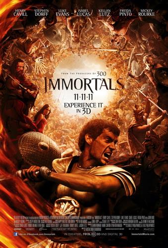 Film Title: Immortals